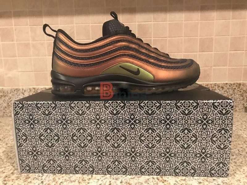 Nike AIR MAX 97 Ultra 17 'Rose Gold' 917704 600 Size 8